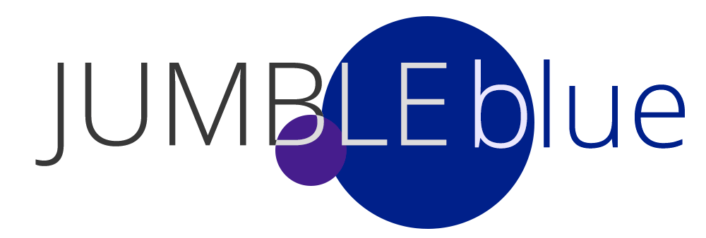 Jumble Blue Logo