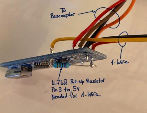 1-Wire to KNX Bridge with Arduino